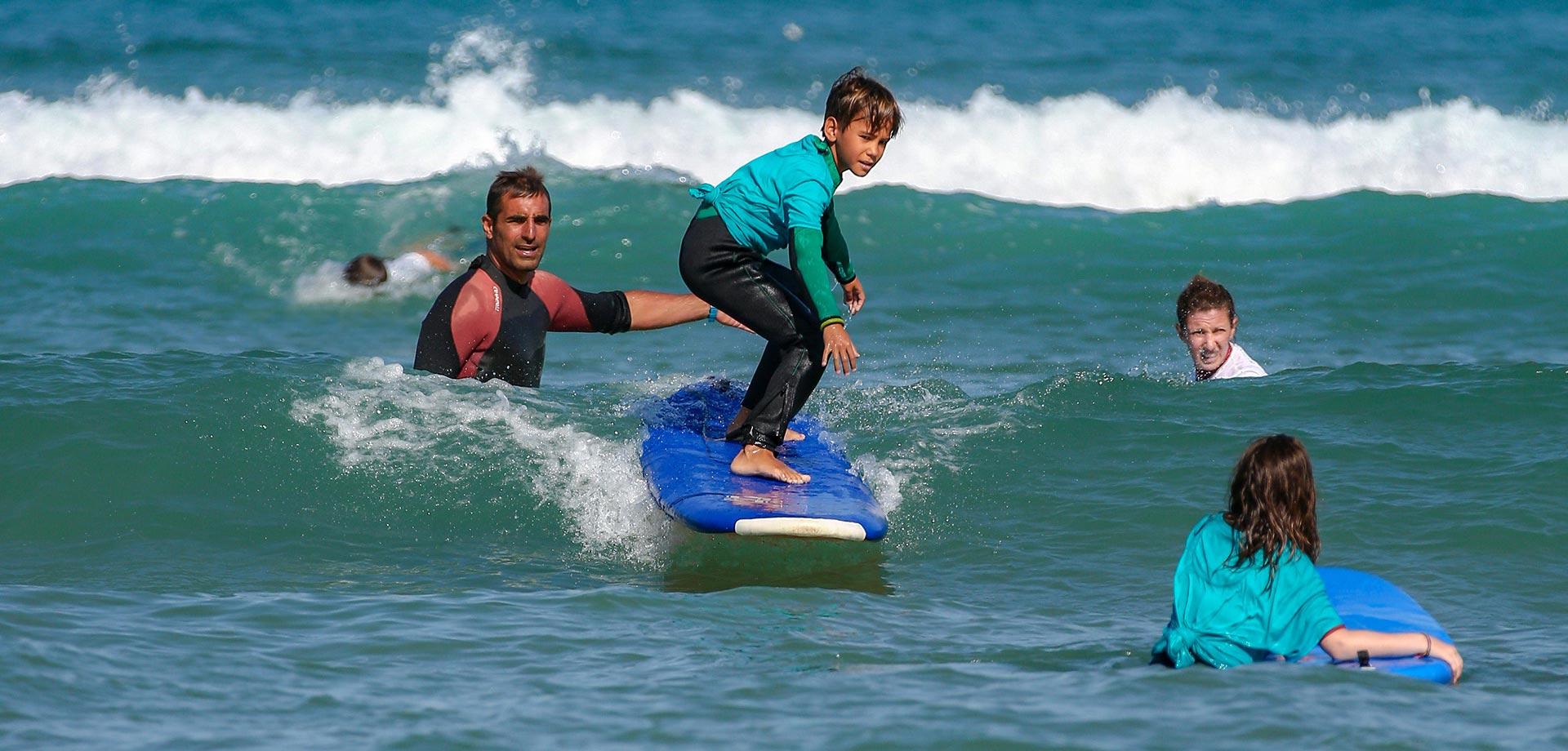 Aquality, cours de surf au Pays Basque