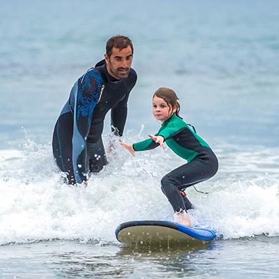 Offrez un cours de surf au Pays Basque avec Aquality Bidart Guéthary